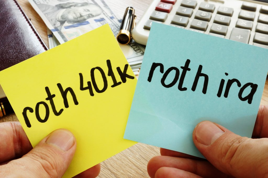 Roth IRA 401K Financial Advisor 1